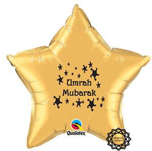 """UMRGLD Umrah Mubarak Foil Balloon - 20"""""""