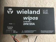 WIELAND WIPOS 81.000.6051.1 24V/20A´