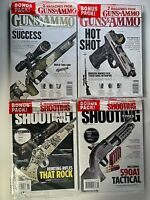 Lot of 8 2020 GUNS & AMMO / SHOOTING TIMES / CARBINE / AR-15 Magazines ALL NEW!