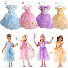 Voile Short Sleeve Casual Dresses (2-16 Years) for Girls