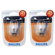 Philips 12336PRB1 30% H3 55w Fog Light Bulb Lap Vision Replacement (1 Pair)