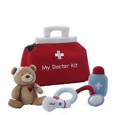 GUND My Doctor Kit, Stuffed Doctor's 5-Piece Plush Play Set