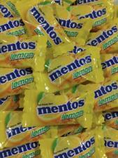 Mentos Individually Wrapped 130 pieces Bulk Wrapped Candy Mints Lemon Mentos