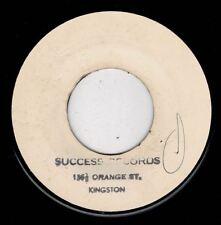 "U ROY JUNIOR-orange street shuffle   blank 7""    (hear)     reggae"