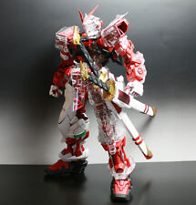 BANDAI GUNDAM ASTRAY RED FRAME MBF-P02 1/60 Perfect Grade & ClearKit & Sword Set