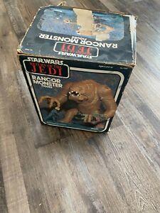 Star Wars Vintage 1983 Rancor MIB boxed with paperwork/catalog