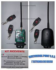 KIT LEARNING RECEIVER WITH 2 RADIO CONTROLS THAT CAN BE PROGAMMED