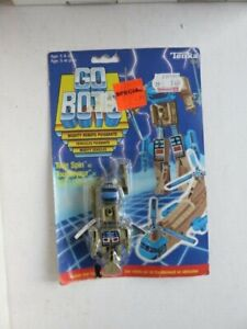 GOBOTS TONKA MIGHTY VEHICLES TWIN SPIN ENEMY ROBOT1984 MIB