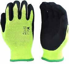 6 Pairs Pack Premium High Visibility Low emissions Green Work and gardening