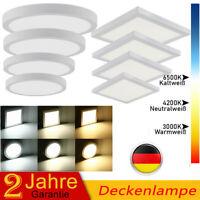 DE LED Panel Aufputz Aufbau Spot Strahler Panel Flach Deckenleuchte Lampe Licht