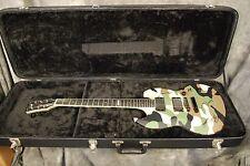 Used ESP Viper Armored Saint Phil Sandoval 2005 Signed w/ Case Camo Camoflage