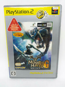 Sony PLAYSTATION PS2 - Monster Hunter G (PlayStation2 the Best) - Japan Version
