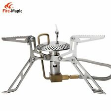 Fire-Maple FMS-118 Camping Stove Outdoor Picnic Stainless Steel Gas Cooktop 146g