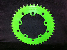 Rare NOS 43T Green PRO NECK USA CHAIN RING Old School BMX 43 Tooth Wheel