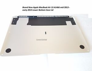 Brand New Apple MacBook Air 13 A1466 mid 2013 - early 2015 Lower Bottom Case Lid