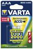 """Micro-Akku VARTA """"ACCU Ready2Use"""", Ni-MH, 800mA, Typ AAA, 2er-Blister"""