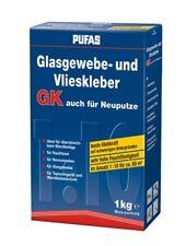 (13,00 EUR/kg) PUFAS Glasgewebe- und Vlieskleber GK 1kg