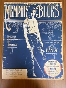 1973 Memphis Blues Program - Great Condition - New York Mets AA Affiliate
