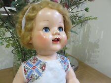 Rare early1950s  Pedigree Walker Hard Plastic  Doll  All Original
