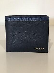Men's Prada Saffiano Wallet