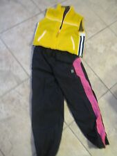 Girls 10 12 Dunlop Ski Pants Snowboard Nylon Limited Too Vest Waterproof Jacket