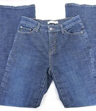 "Levis Boot Cut 512 Womens Perfectly Slimming Dark Wash Denim Jeans 31"" Inseam 8"