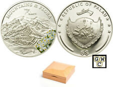 2010 Palau $5 Sterling Silver Mount McKinley Coin (12762)