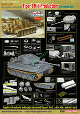 Dragon 1/35 6700 Tiger I Mid-Production w/Zimmerit