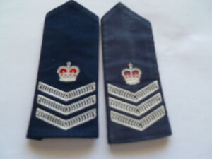 aust nsw police old sgt rank stripes one faded a bit