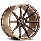 4Ea 20X10 20X11 Staggered Savini Wheels Sv F4 Matte Bronze Rims S13