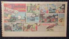 "Vintage Captain Tootsie Roll Cartoon Print Ads Vg+ 4.5 C C Beck 15x8"""