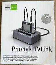 JAMAIS UTILISÉ/Phonak TV Link Appareil auditif sans fil pour téléviseur