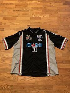 VINTAGE NASCAR Kevin Harvick Mobil 1 Pit Crew Shirt JH Design Rare Adult 3XL