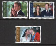 Bahamas 2011 Royal Wedding set UM (MNH)