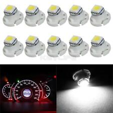 10x T5 White 1-5050-SMD LED Neo Wedge A/C Climate Heater Lights blubs 12V