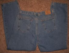 Men's Jeans size 38x32 MEMBER'S MARK ~ 100% Cotton Relaxed ~ 5 pocket ~ Zip Fly