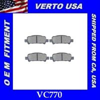 VC815 Infiniti Based on Fitment Chart Front Ceramic Brake Pads For Nissan