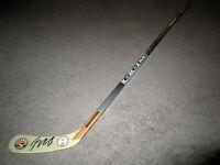 JOHNNY GAUDREAU Calgary Flames Autograph SIGNED Hockey Stick w/BAS COA Lady Byng