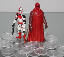 100 x Stands/Support/pieds / PIEDS POUR FIGURINES D'action / STAR-WARS chiffres