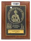"Vintage Antique Wooden Plaque & Sign ""Accident Prevention Award"" For Home Decor"