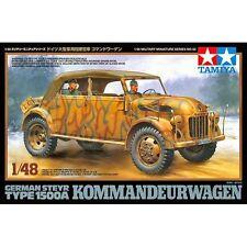 TAMIYA 32553 GERMAN STEYR 1500 kommandeurwagen 1/48 SCALA KIT MODELLINO IN PLASTICA