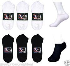 Wholesale Dozen Lot Knocker Cotton No Show Low Cut Socks Solid Size: 9-11 10-13