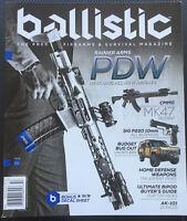 Issue #2 2015 BALLISTIC Firearms & Survival Magazine Prepper Homesteader Basics