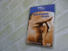 BODY INVADERS: ALLERGIES - DISCOVERY HEALTH - REGION 4 PAL DVD