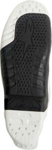 Alpinestars Tech 10 Boots Sole 7--8 Black/White 25SUT10-12-7/8