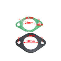 28mm Intake Manifold Spacer Insulator Gasket For Pit Dirt Bike Moped Scooter
