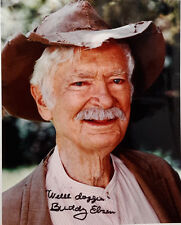 Beverly Hillbillies TV Autograph Buddy Ebsen/Jed Signed 8x10 Photo(LHAU-126)