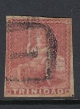 Trinidad 1857 (1d) Rose-Red SG12 Fine Used