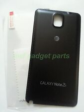 New OEM Samsung Galaxy Note 3 N900A Battery Back Cover+ S/ P AT&T-Black -US - FL