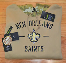 2019 NEW ORLEANS SAINTS Salute to Service Hoodie Nike - XL - 100% AUTHENTIC